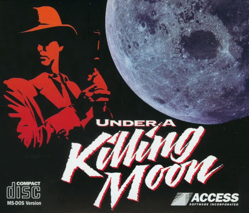 Under a Killing Moon DOS Other Jewel Case - Front