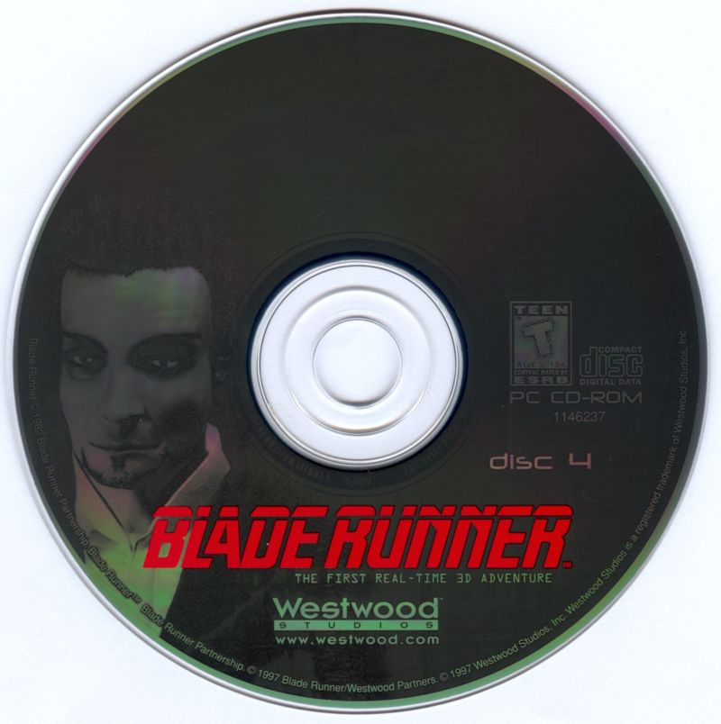 Blade Runner Windows Media Disc 4