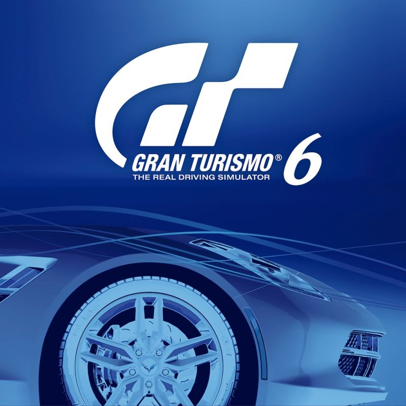 Gran Turismo 6 PlayStation 3 Front Cover