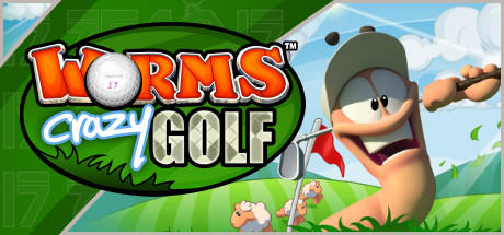 Worms Crazy Golf Macintosh Front Cover