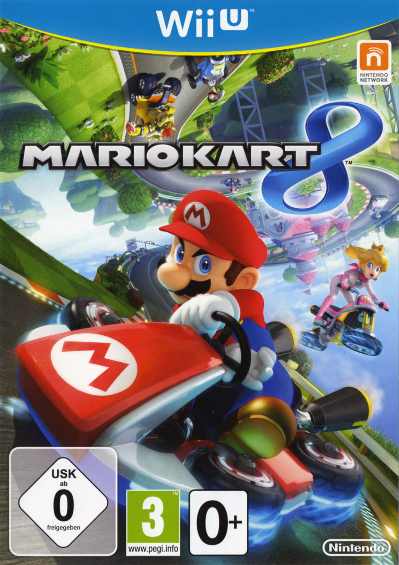 mario kart 8 limited edition 2014 wii u box cover art. Black Bedroom Furniture Sets. Home Design Ideas