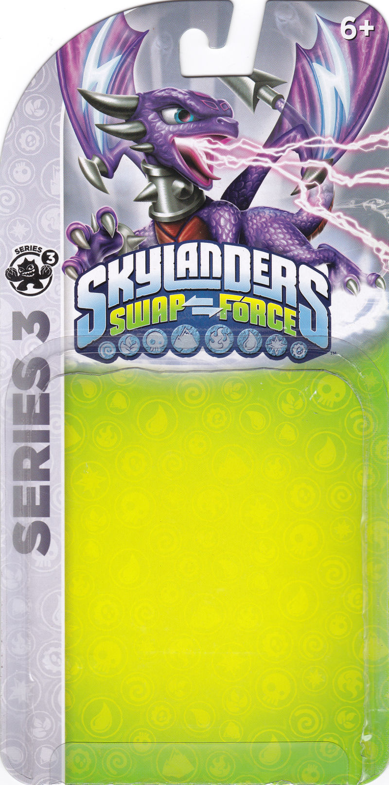 Skylanders: Swap Force - Phantom Cynder (Series 3) Nintendo 3DS Front Cover