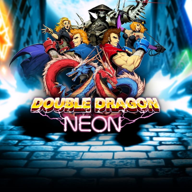 Double Dragon Neon 2012 Playstation 3 Box Cover Art