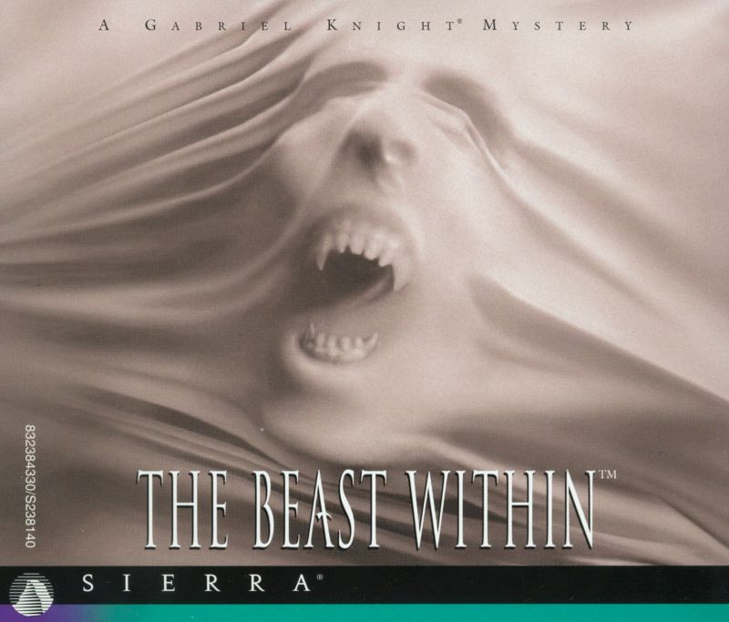 The Beast Within: A Gabriel Knight Mystery DOS Other Jewel Case - Front