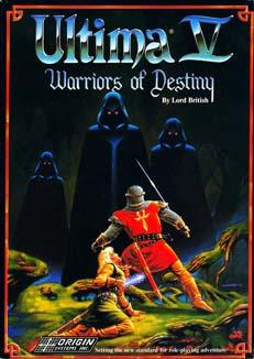 Ultima V: Warriors of Destiny Windows Front Cover