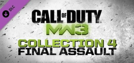 Call of Duty: MW3 - Collection 4: Final Assault Macintosh Front Cover