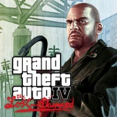 Grand Theft Auto IV: The Lost and Damned PlayStation 3 Front Cover