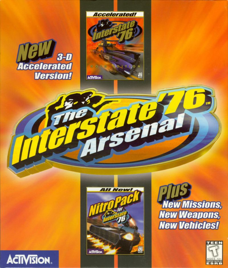 The Interstate '76 Arsenal Windows Front Cover