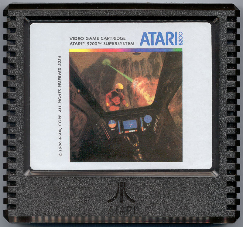 Rescue on Fractalus! Atari 5200 Media