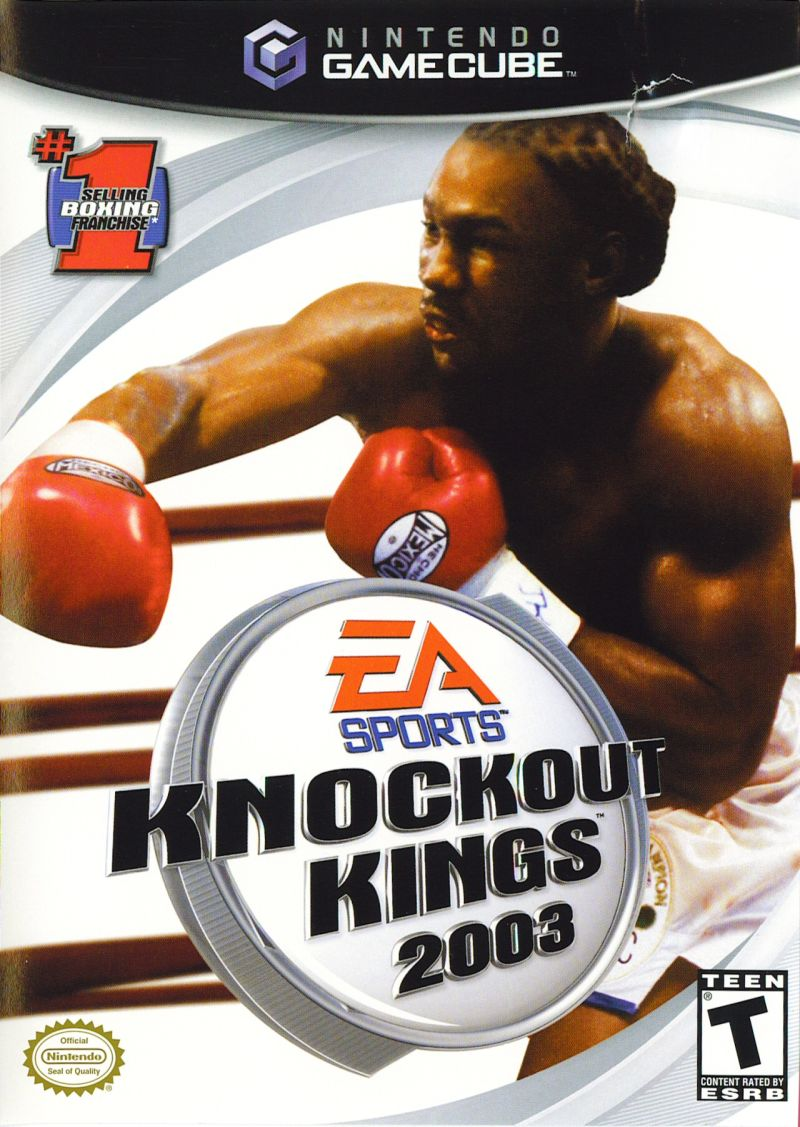 Knockout Kings 2003 GameCube Front Cover