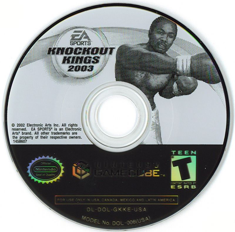 Knockout Kings 2003 GameCube Media