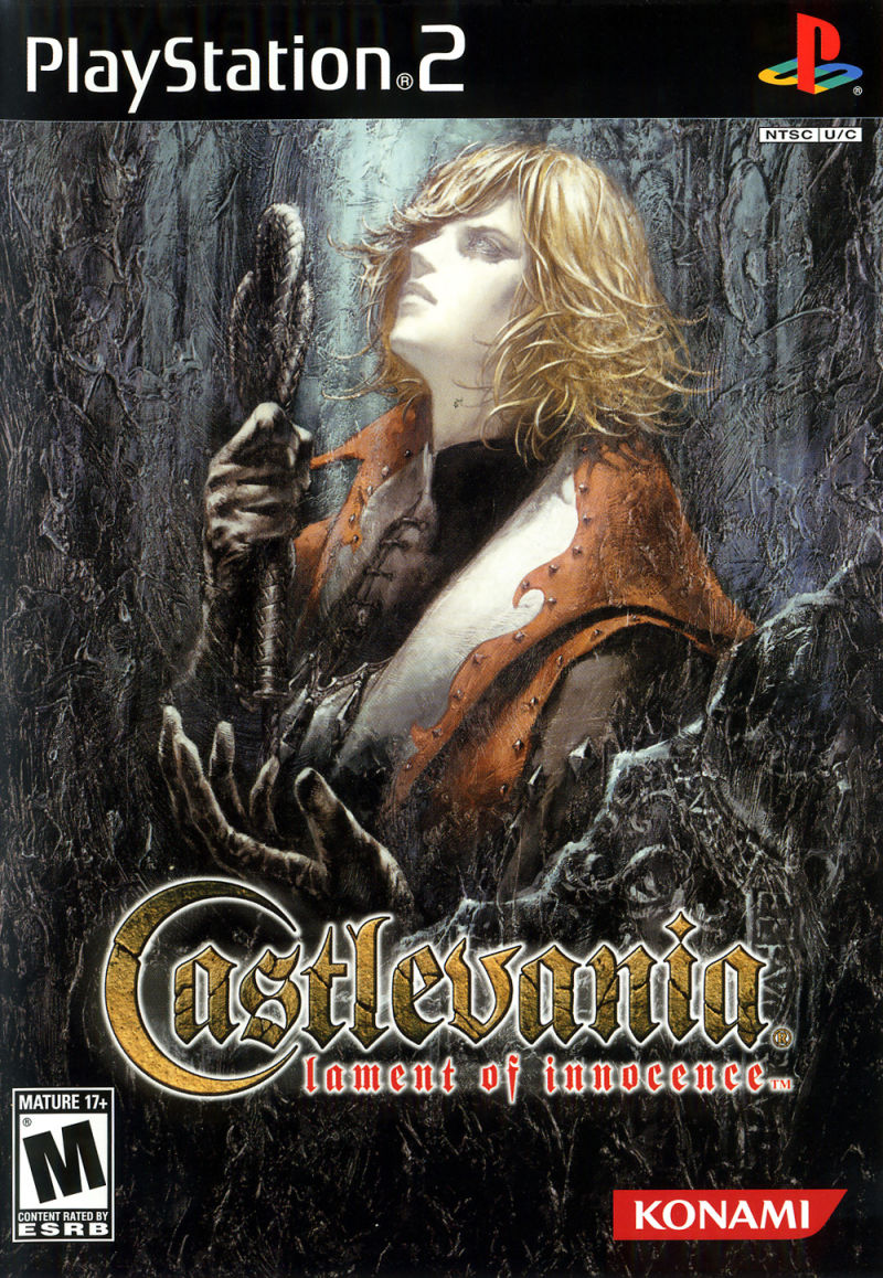 Castlevania: Lament of Innocence PlayStation 2 Front Cover