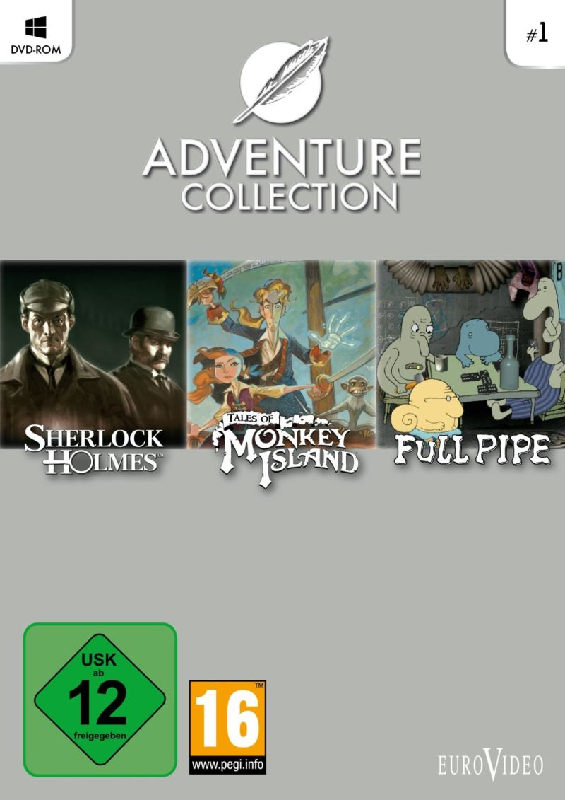 Adventure Collection #1 Windows Front Cover