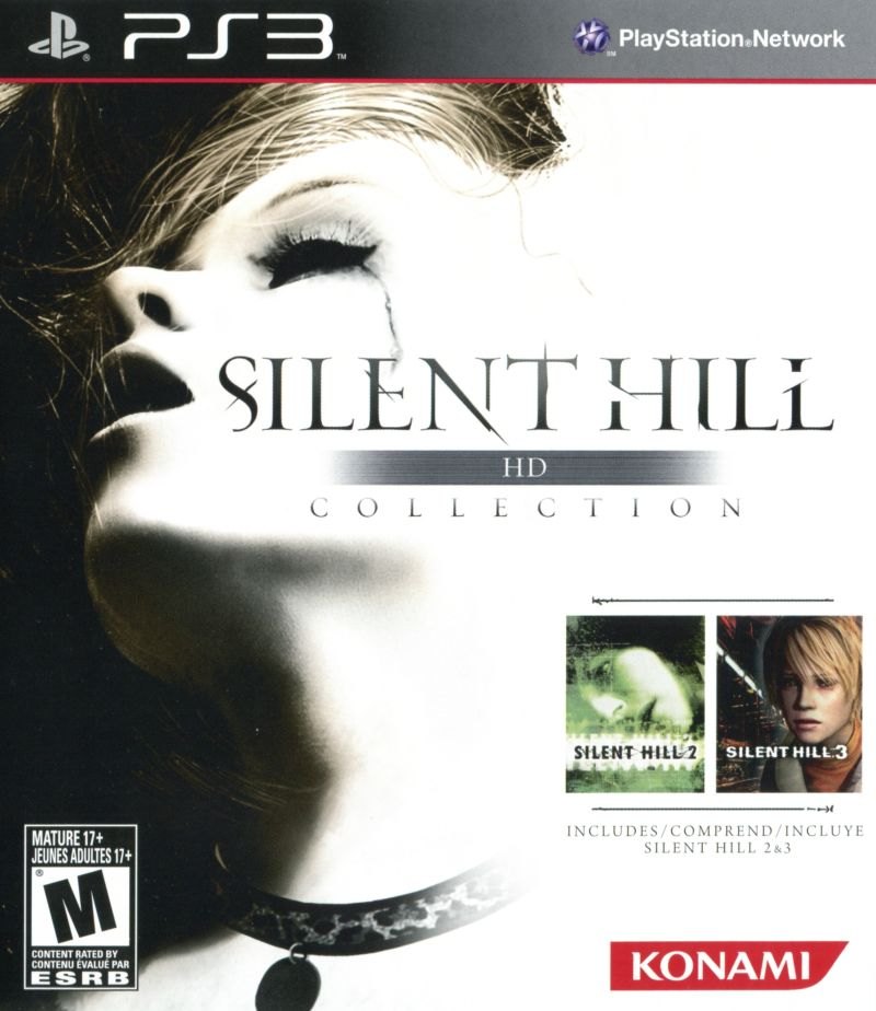 Silent Hill: HD Collection PlayStation 3 Front Cover
