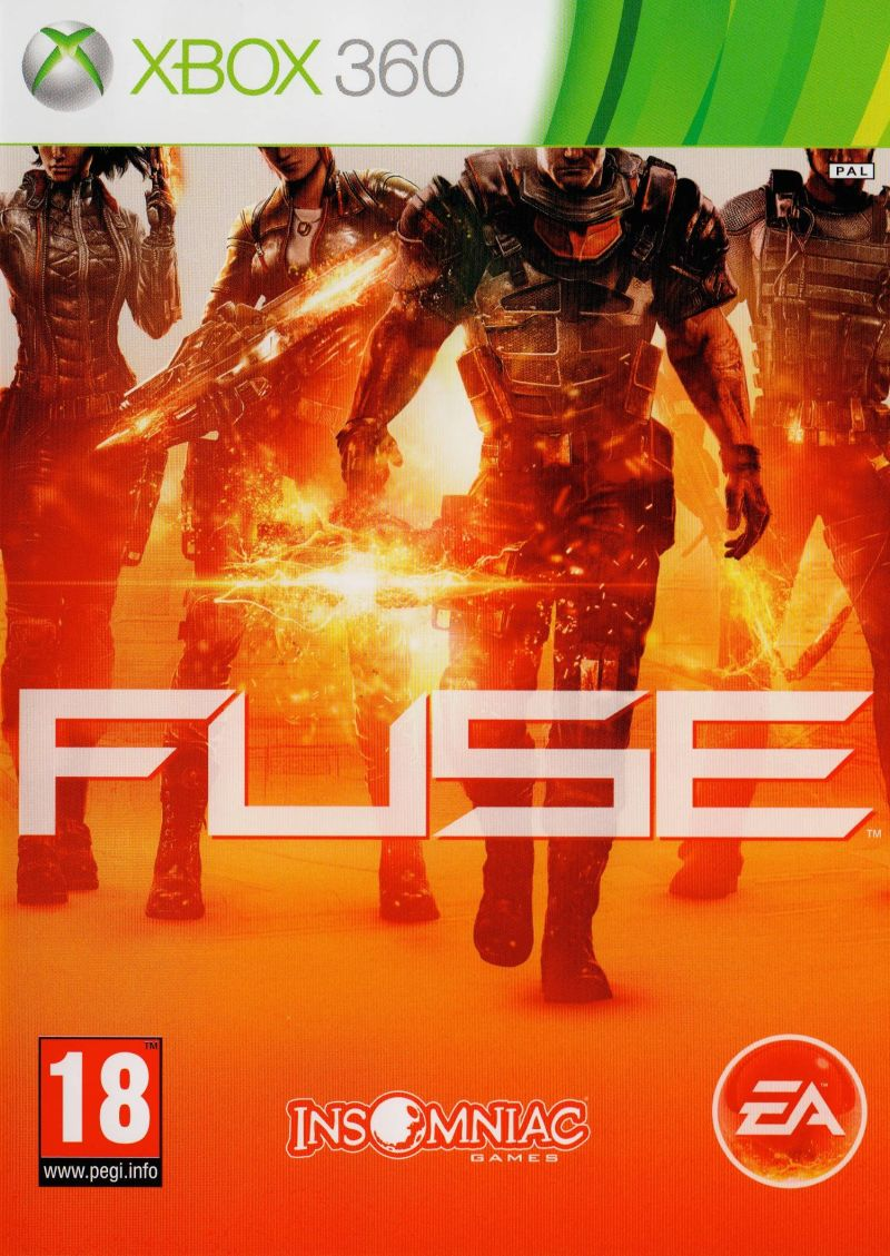 Fuse Xbox 360 Front Cover