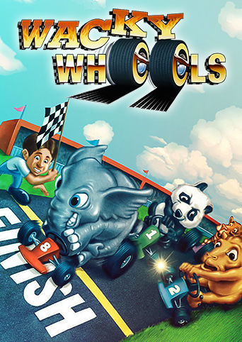 Wacky Wheels Linux Front Cover 1st version
