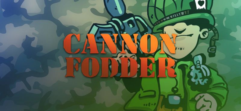 Cannon Fodder Linux Front Cover 2nd version