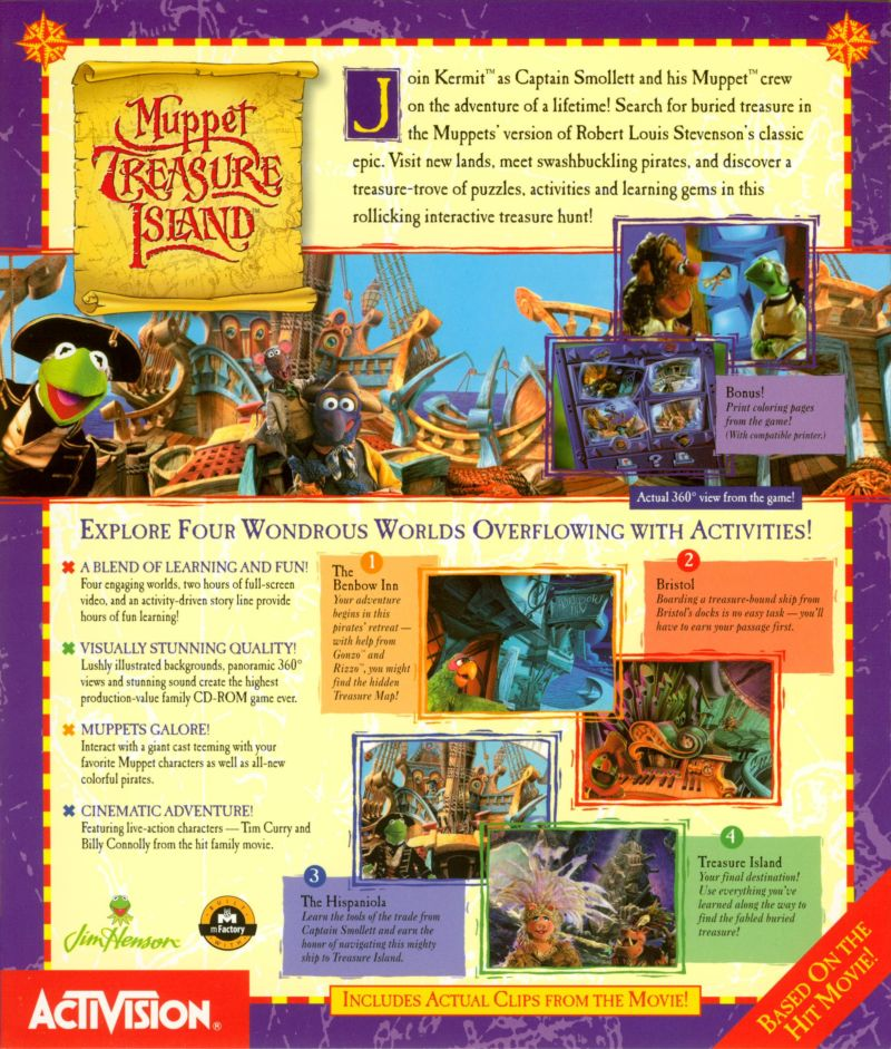 Muppet Treasure Island Cd