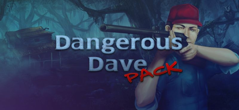 Dangerous Dave Pack Windows Front Cover 2014 cover