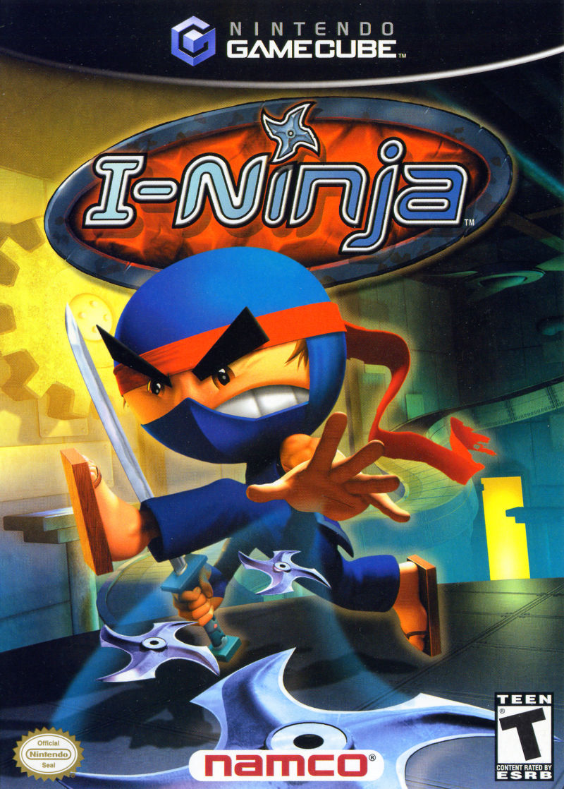 I-Ninja GameCube Front Cover