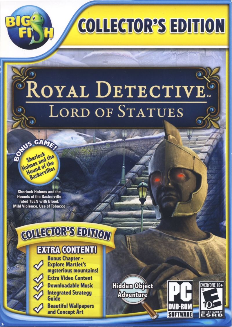 Royal Detective: The Lord of Statues (Collector's Edition)