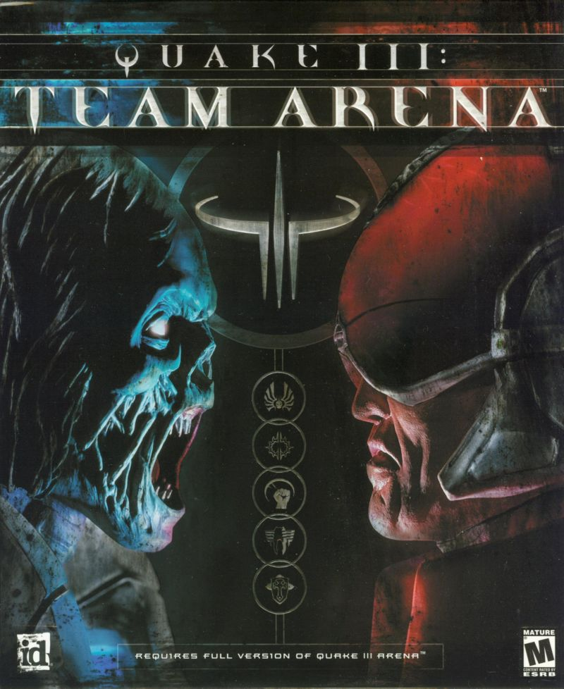 Quake III: Team Arena Windows Front Cover