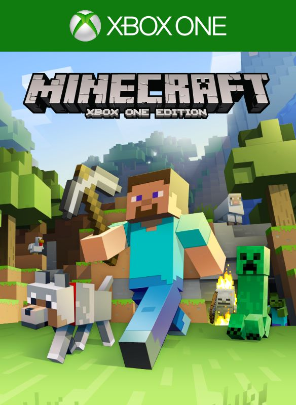 Book Cover Craft Xbox One : Minecraft playstation edition box