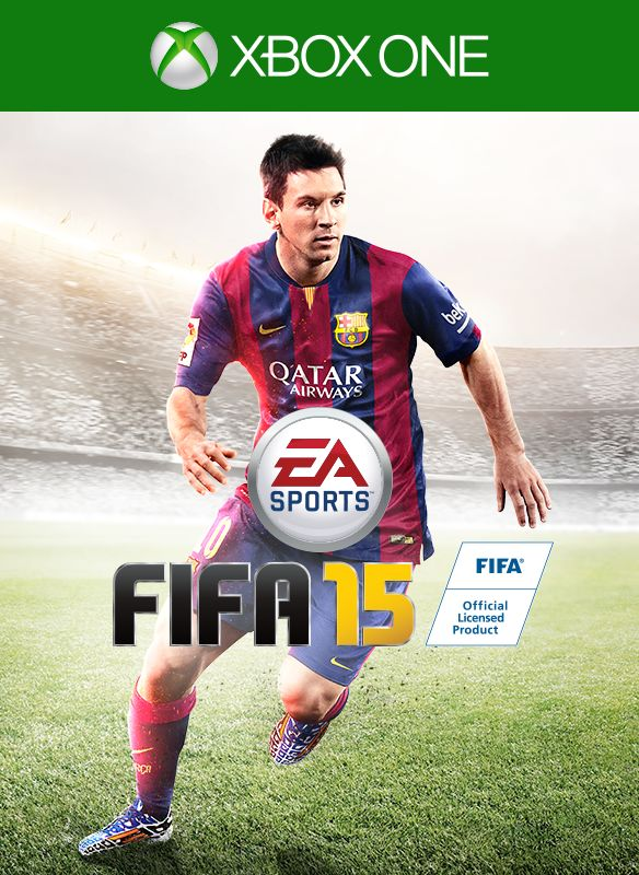 FIFA 15 Xbox One Front Cover 1st version