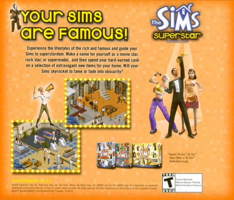 The Sims: Makin' Magic Windows Other Jewel Case - Inlay