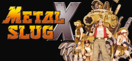Metal Slug X Windows Front Cover