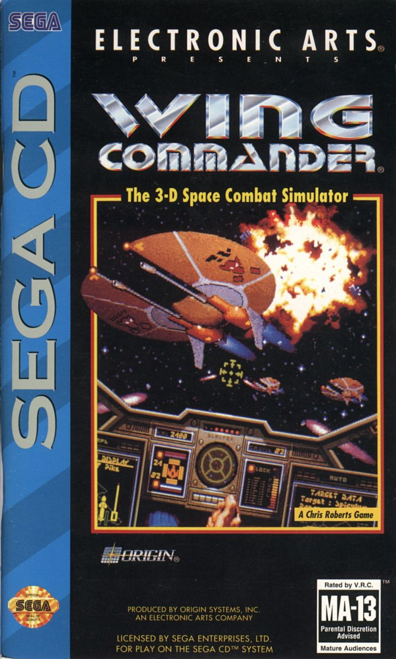 Wing commander for amiga 1992 mobygames for Wing commander
