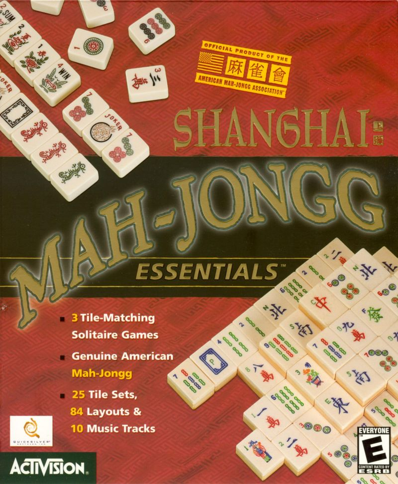 Shanghai: Mah-Jongg Essentials Macintosh Front Cover