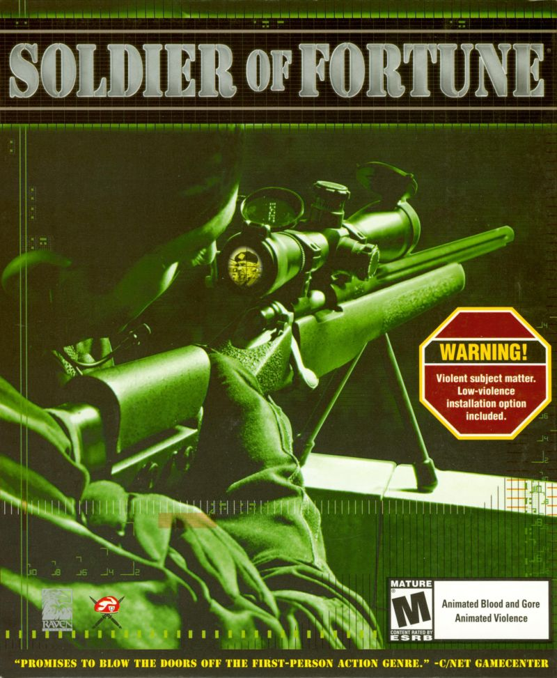 Soldier of Fortune Windows Front Cover