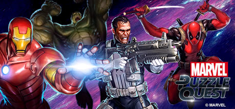 Marvel Puzzle Quest Windows Front Cover