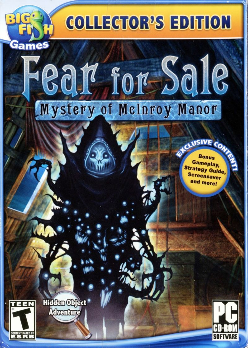 Fear for Sale: Mystery of McInroy Manor (Collector's Edition)
