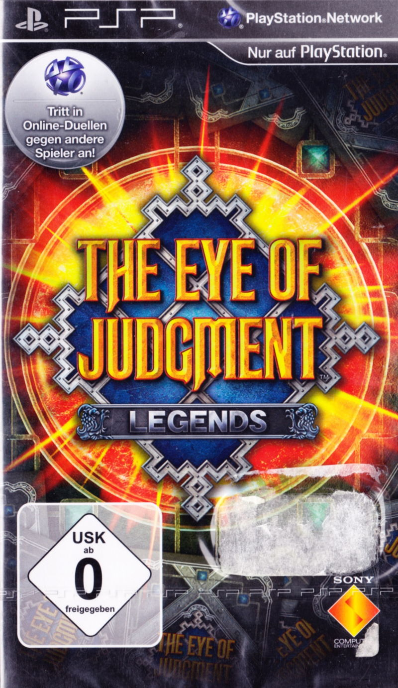 The Eye of Judgment: Legends PSP Front Cover