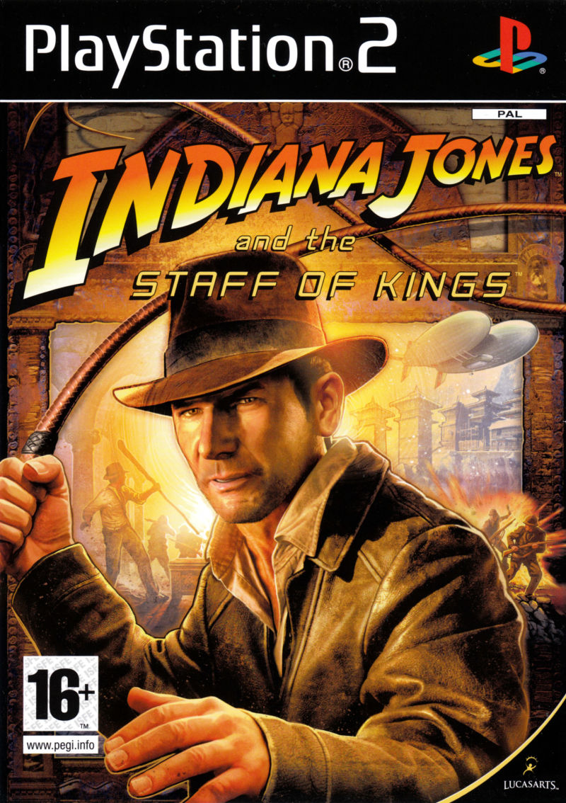 Games Ps2 Indiana Jones And The Staff Of Kings Bid To
