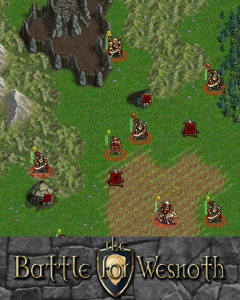 The Battle for Wesnoth Linux Front Cover
