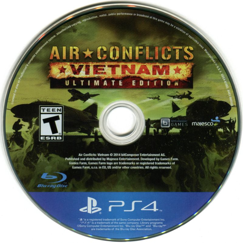 6743401b6918 Air Conflicts  Vietnam - Ultimate Edition (2014) PlayStation 4 box ...