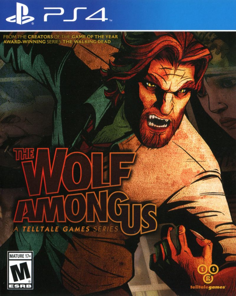 The Wolf Among Us 2014 Playstation 4 Box Cover Art