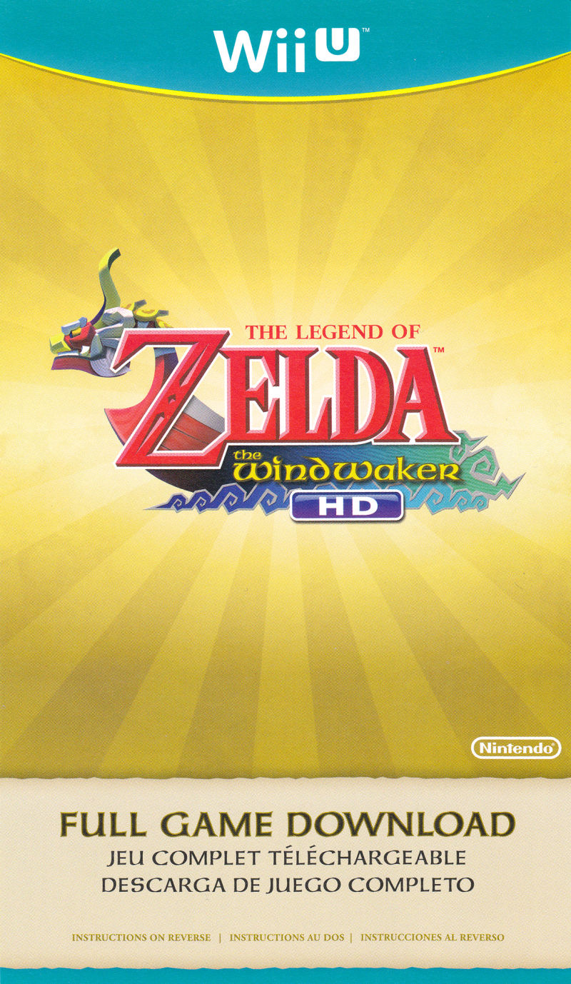 The legend of zelda: the wind waker hd for wii u nintendo.