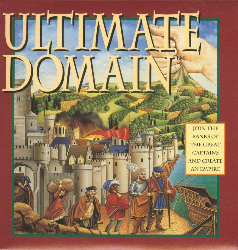Ultimate Domain DOS Front Cover