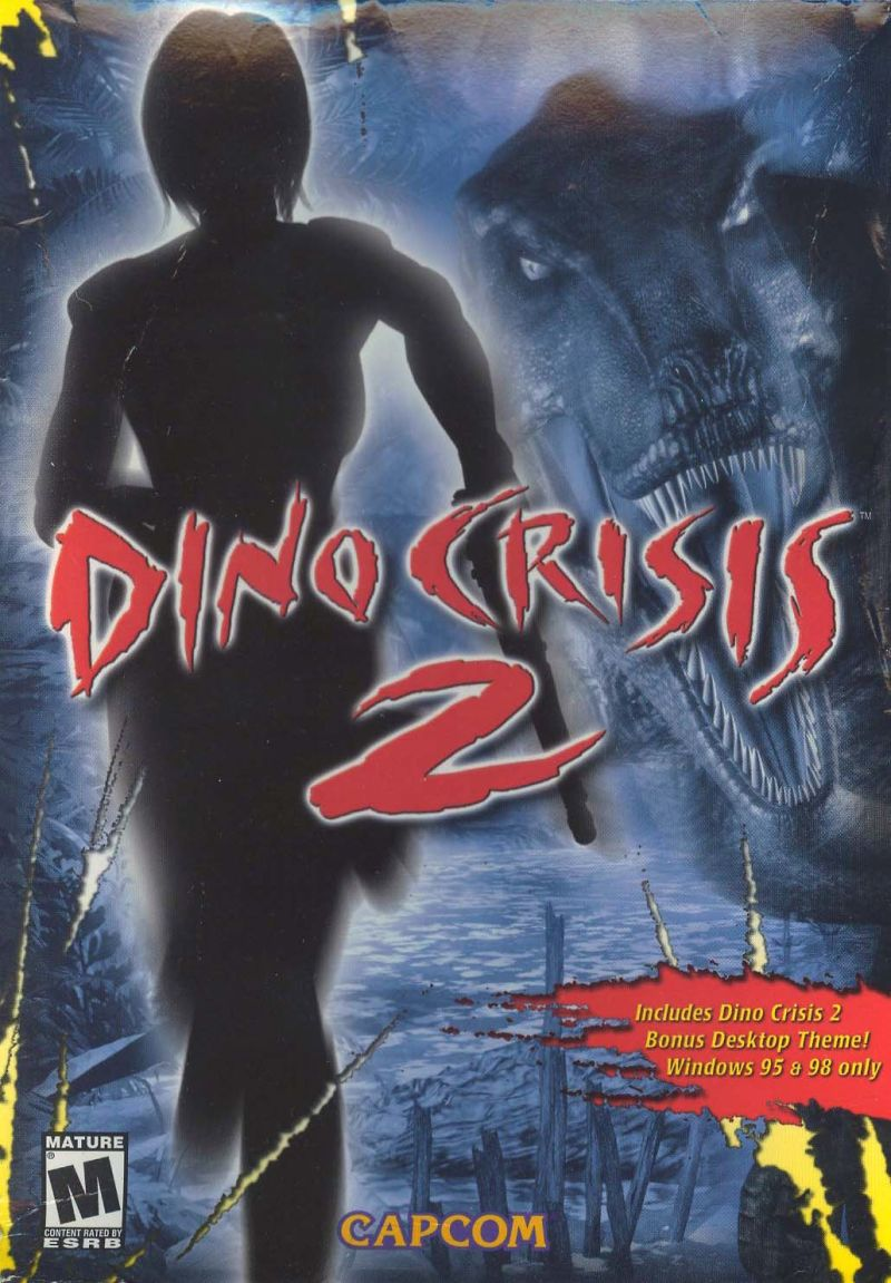Dino Crisis 2 Windows Front Cover