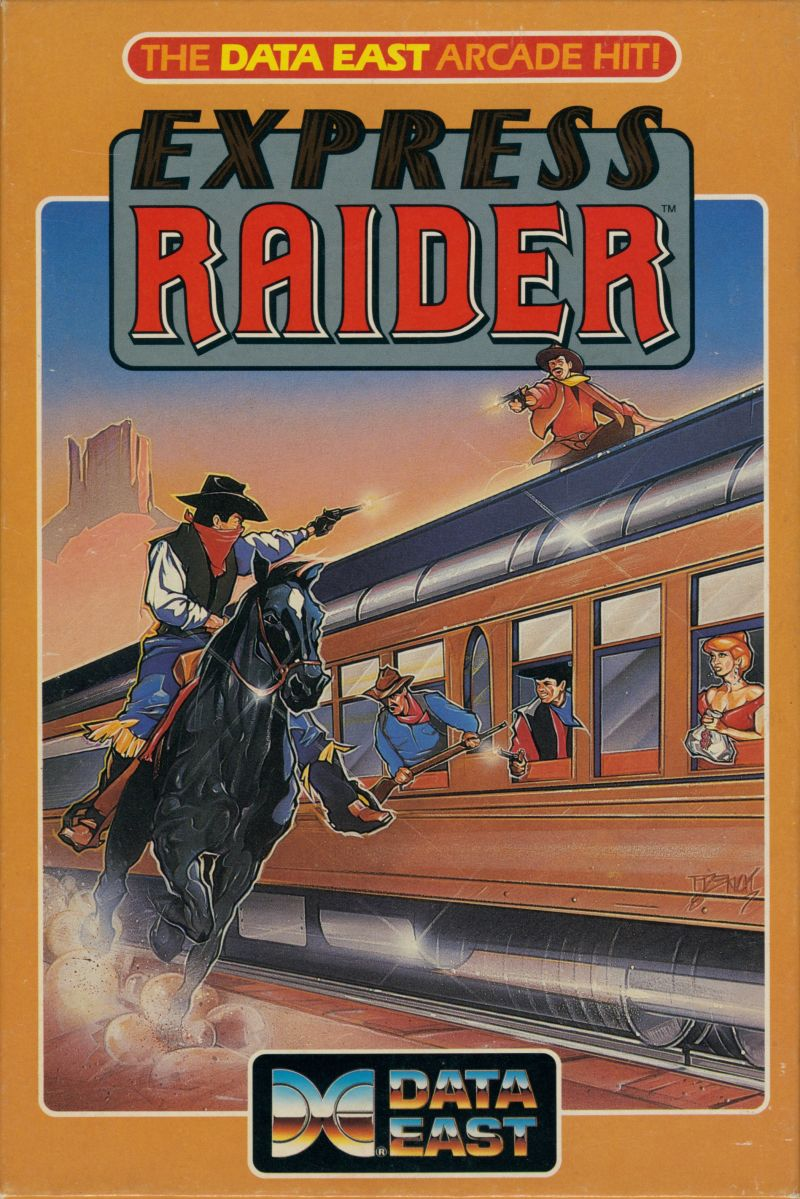 Express Raider for Amstrad CPC (1987) - MobyGames