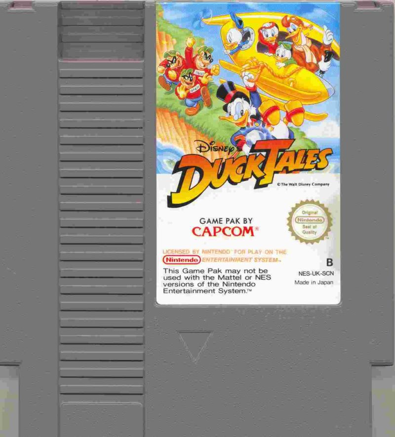Disney's DuckTales NES Media