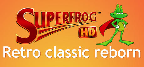 Superfrog HD Linux Front Cover