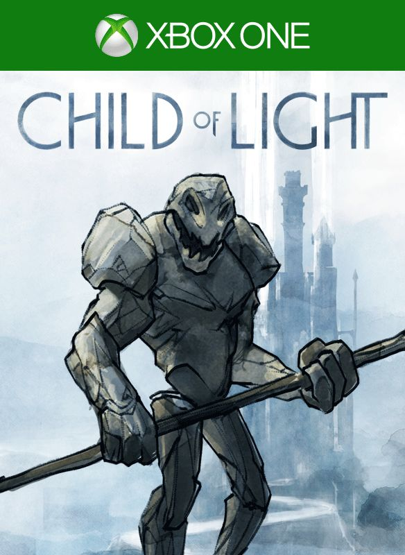 High Quality Child Of Light: The Golemu0026#x27;s Plight Pack Xbox One Front Cover