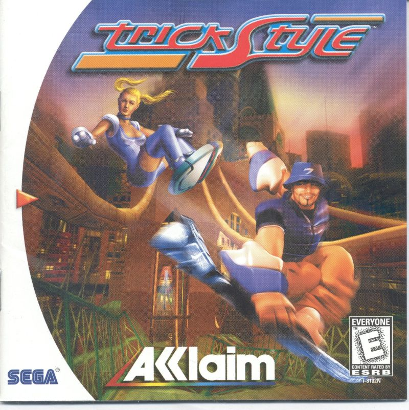 Trickstyle Dreamcast Front Cover