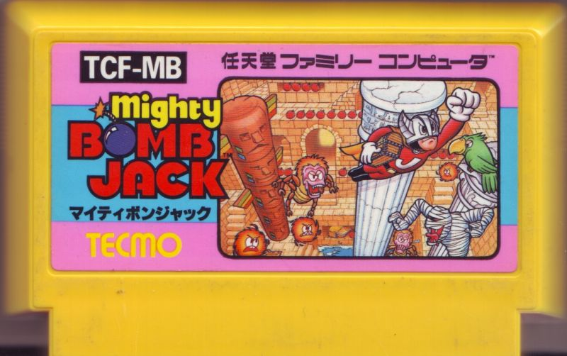 Mighty Bombjack NES Media