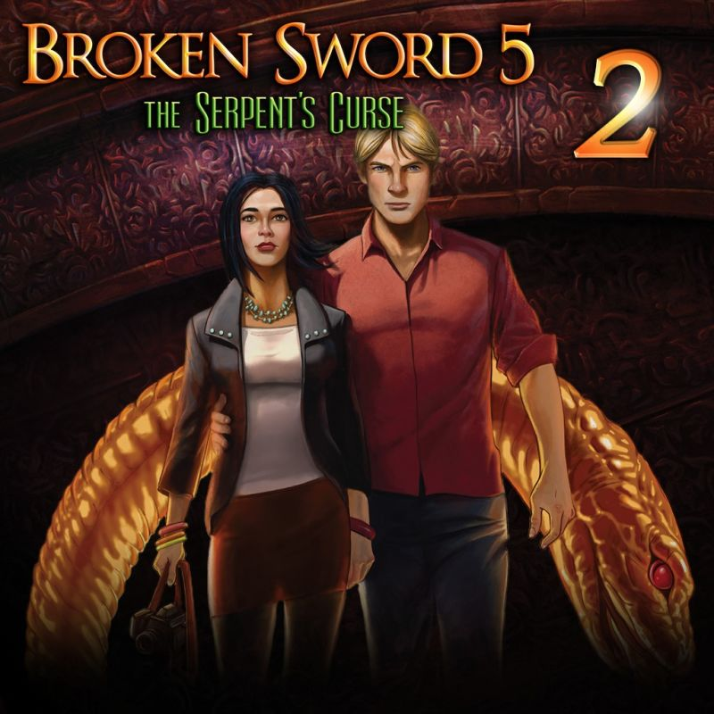 Broken Sword 5: The Serpent's Curse - Episode 2 PS Vita Front Cover